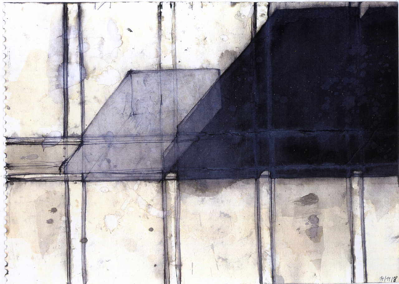 Felber Robert  untitled, 1998 black ink / paper 17 x 24 cm